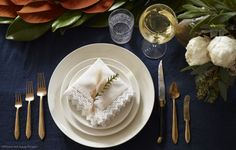 House of Brinson: Thanksgiving table setting