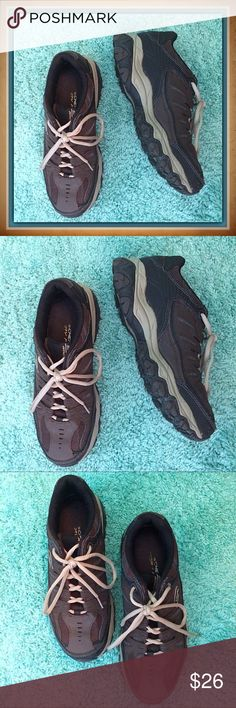 Skechers / Memory Foam Sneakers / Men's Size 9 Skechers / Memory Foam Sneakers / Men's Size 9 / Great Condition (worn once) / Black & Gray.  Please feel free to make an offer - Enjoy BIG discounts on bundles & save $$$ on shipping! I package safely & ship fast.  TY & Happy Poshing! 💜💜💜 S1 Shoes Sneakers