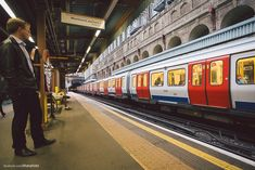 So my London Underground train photograph/gif went down well last time, here's an overground station one.