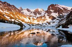 Sunrise at Lake Isabelle - Indian Peaks Wilderness, Colorado | Flickr - Photo Sharing!