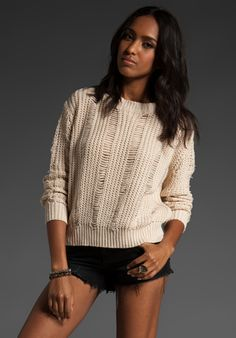 <3 textured knits