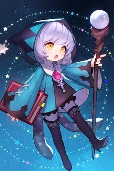 처음 시작할 때 선택할 수 있는 캐릭터입니다. 마법사 메르니와 궁수 제니아 작업했어요~ Manga Kawaii, Loli Kawaii, Cute Anime Chibi, Kawaii Chibi, Kawaii Art, Anime Child, Anime Art Girl, Anime Comics, Marvel Comics
