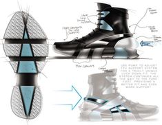 Reebok Shaq Ree-Attaq by Allen Largin at Coroflot.com