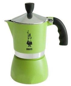 Espressokeitin 3 Fiammetta vihreä