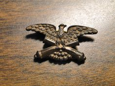 Scarce Civil War Top Pin Veterans Medal Eagle Over Cannon -  Pat. May 4, 1886 & June 22, 1886 - Very Nice Original Pin - Great Find! by EagleDen on Etsy