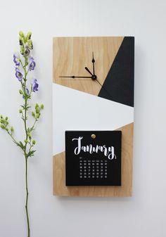 Diy Wall Art, Diy Wall Decor, Diy Bedroom Decor, Wall Clock Wooden, Wood Clocks, Antique Clocks, Wooden Sofa Designs, Wood Design, Design Design