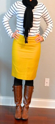 Sexy Winter Skirt Outfit Ideas (21)