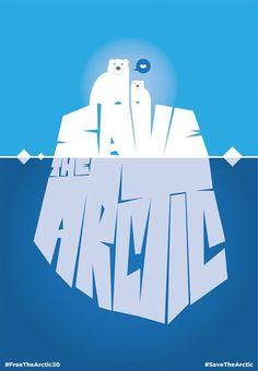 Save the Arctic by Francesco Poroli   Page Design
