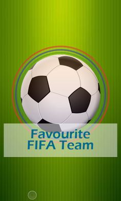 Free Download Favorite FIFA Team 2.0 APK - http://www.apkfun.download/free-download-favorite-fifa-team-2-0-apk.html