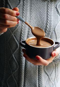 Crema pastelera de chocolate fácil y rápida, especial para rellenos y postres Flan, Chocolate Deserts, Chocolate Ganache, Salsa Dulce, Creme Dessert, Cake Fillings, Dessert Recipes, Desserts, International Recipes