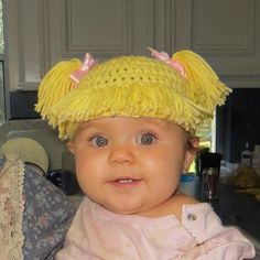 Cabbage Patch Doll Baby Hat - Yep Cutest Thing Ever.
