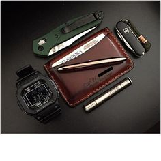 There's a simple symmetry to the essential carry that winds up in our pockets…