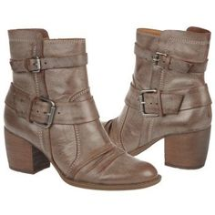 Naya Virtue Boots (Grey Snow Leather) - Women's Boots - 9.5 W