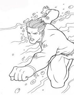 10 Amazing Aquaman Coloring Pages For Your Little Boy  Aquaman