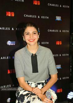 celebstills: Anushka Sharma At Film 'NH10' Promotions At Charles & Keith store In Mumbai
