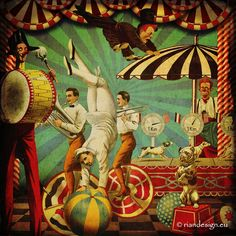 circus+collage+riandesign+collage+sheets