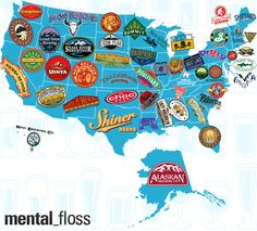 The Largest Craft Brewery Per State   Mental Floss