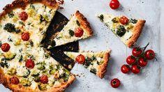Parsakaali-fetapiirakka | Leivonnaiset | Yhteishyvä Margarita, Vegetable Pizza, Feta, Vegetables, Recipes, Vegetable Recipes, Margaritas, Veggie Food, Recipies