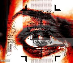 Stock Illustration : Artificial intelligence (AI), conceptual computer artwork