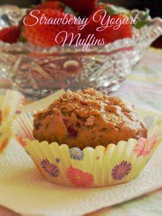 The Life & Loves of Grumpy's Honeybunch: Strawberry Yogurt Muffins