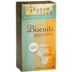 123Gluten free Biscuit Mix-Wheat Free/Gluten Free, 1.1100-pounds (Pack of 6)