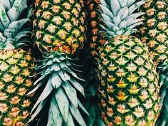 Pineapple love.