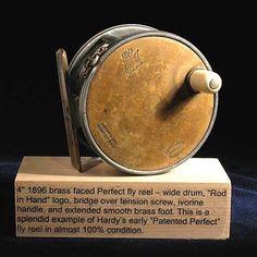 "www.pinterest.com/1895gunner/ Hardy Bros. ""Perfect"" fly fishing reel..."