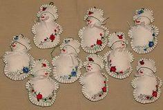 Christmas craft, felt ornament