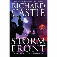 Storm Front Richard Castle book