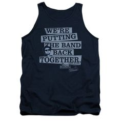 Blues Brothers - Band Back Adult Tank Top T-Shirt