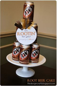 Life.Design. and the Pursuit of Craftiness: Root Beer & Pickles: New Job Gifts for the Hubby
