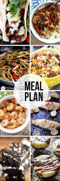 Our Easy Meal Plan is designed to take the stress out of dinner planning. It is made up of 6 dinner and 2 dessert recipes from your favorite bloggers and each one is delicious!