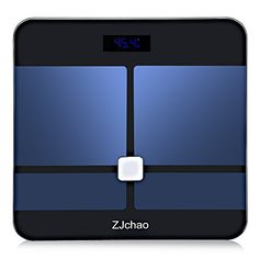 Bathroom Scale Décor   ZJchao Smart Fitness Weight Scale * Read more  at the image link. Note:It is Affiliate Link to Amazon.
