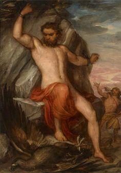 Im writing an essay on the myth Prometheus and i need some help.?