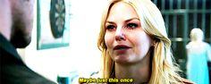 """""""Maybe just this once."""" Emma and Hook - 4* 9 """"The Fall."""" #CaptainSwan #ShatteredSight #OnceisFrozen"""