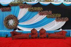 62 Trendy Ideas for wedding venues church altars Wedding Hall Decorations, Wedding Stage Design, Wedding Reception Backdrop, Backdrop Decorations, Decoration Table, Wedding Themes, Flower Decorations, Wedding Venues, Wedding Backdrops