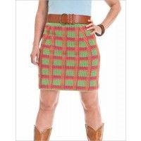 Plaid Skirt   InterweaveStore.com