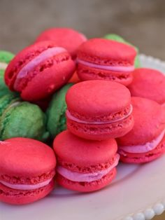 Hawaiian French Macarons...⭐...