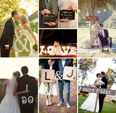 Fun wedding sign ideas!
