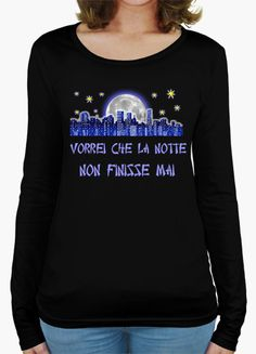 T-shirt PAESAGGIO NOTTURNO