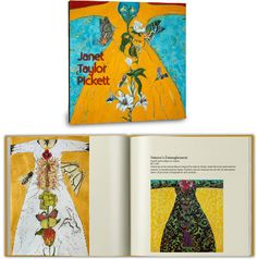 $100 THE ART BOOK: Janet Taylor Pickett 40+ images of Janet's work in a beautifully bound art book. Includes images of the artist at work, the stories behind each work, and a critical essay by a major museum curator.