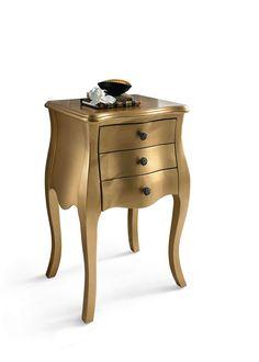 Kommode Im Vintage Look Gestalten : Vintage Kommode - Nachttisch im Barock-Look. Versandkostenfrei ...