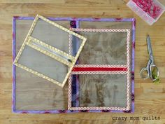 Sewing with vinyl and shortening zippers || Crazy Mom Quilts