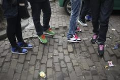 The sneaker game in Amsterdam is crazy competitive. If you play that game, come ready. Air Max 1s seem to be the most popular model around town...