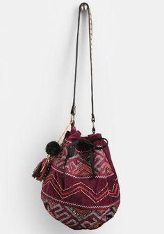 Ganesha Velvet Bag By Stela 9 - Accessories