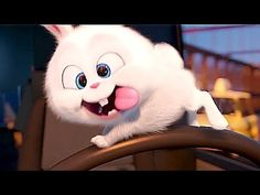 "The Secret Life of Pets : meet ""Psycho Bunny"" ! Cute Bunny Cartoon, Cute Cartoon Pictures, Cartoon Pics, Cute Cartoon Wallpapers, Snowball Rabbit, Gif Mignon, Cartoon Mignon, Disney Mignon, Foto Cartoon"