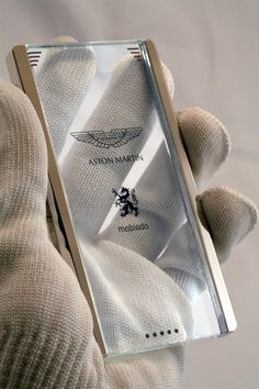 Aston Martin and Mobiado Collaborate on Transparent Luxe Mobile Cellphone