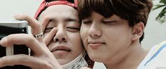 """""""daejae being cuddly and cute ♡ """""""