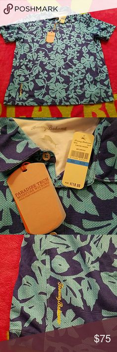 Tommy Bahama Shirt NEW Brand new with tags attached.  No damage rips tears or stains Tommy Bahama Shirts Polos