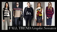 Fall 2012 Trend: Graphic Sweaters